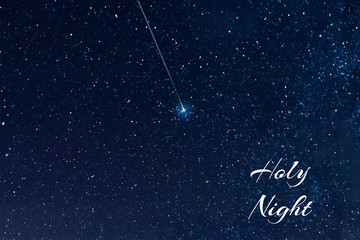 Starry sky Elements of this vector furnished by NASA