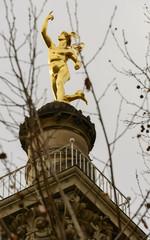 gilt Mercury statue, Stuttgart