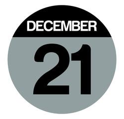 21 december calendar circle
