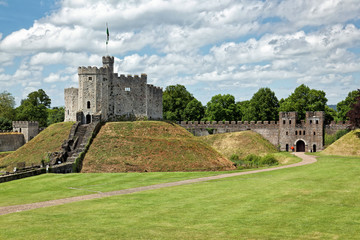 Cardiff Castle, Wales, England