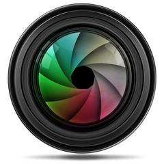 Digitales Kameraobjektiv, freigestellt