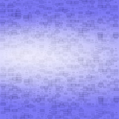 Dark blue abstract background with small bricks
