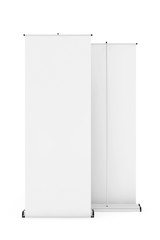 Rolled Banner Promotion Stands