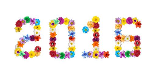 Flower arrangement is number 2016