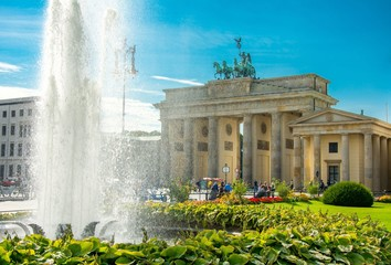 Porte de Brandebourg, Brandenburg Gate, Brandenburger Tor, Berlin, Germany