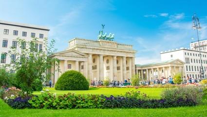 Fotomurales - Porte de Brandebourg, Brandenburg Gate, Brandenburger Tor, Berlin, Germany