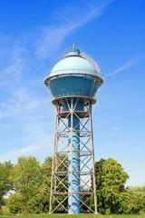 Wasserturm, Wahrzeichen von Ahlen Westfalen Hohe Auflösung für Poster- oder Leinwanddruck