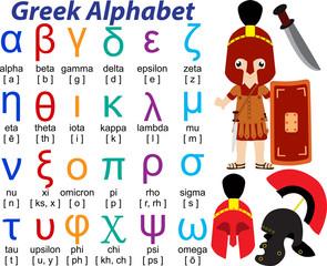 Greek Alphabet 1 -fo69