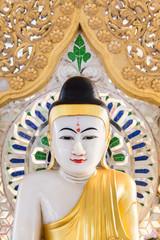 Buddha image in Bagan, Myanmar.