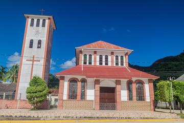 Templo de la Virgen de la Candelaria church in Rurrenabaque, Bolivia