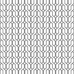 geometric background of interlacing black lines