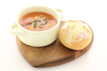 スープとパン