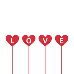 Lovely Valentine`s Day Design