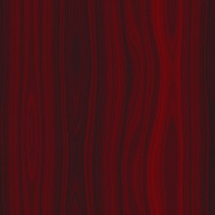 Illustration of dark red wood seamless texture or background