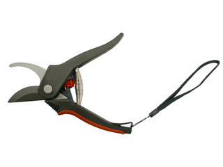 Open garden secateurs