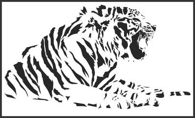 tiger_sitting