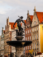 Statue of Neptune in Gdansk