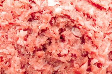 Fleisch verarbeitet