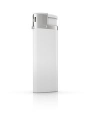 white cigarette lighter