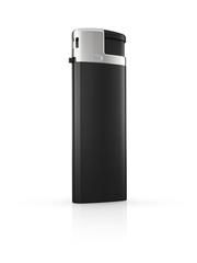 black cigarette lighter