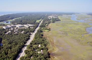 Hilton Head US 278 Aerial View