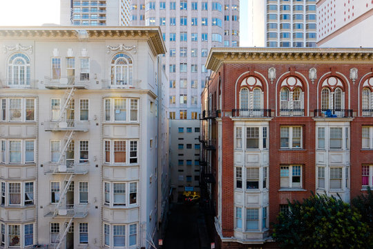 Downtown Old Buildings SF