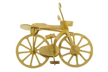 Bike models made of wood