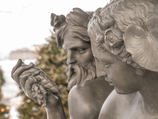 God and Goddess Statue