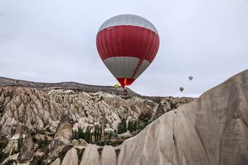 Air balloons over Cappadocia