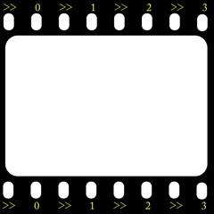 Filmstrip frame vector