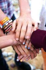 Teenage friends oath