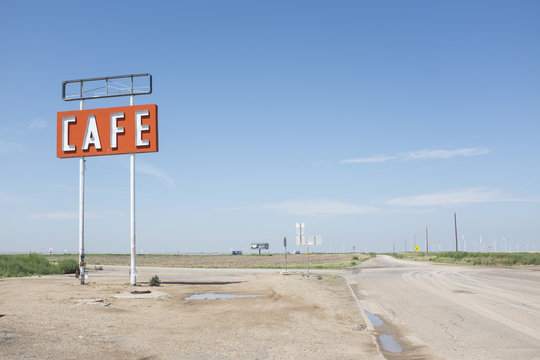 cafe in the route 66