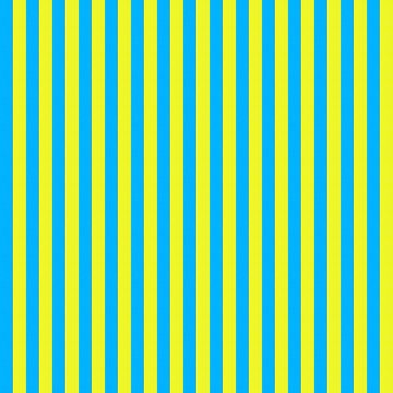 Blue and yellow striped pattern