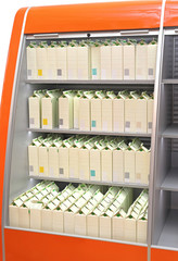 Milk Shelf