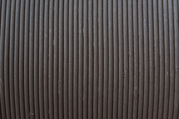 steel wireline cable texture dirty with mud