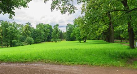 Park in Tsarskoye Selo, Saint Petersburg