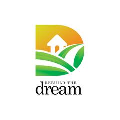 initial D Sun Farming Home Logo icon