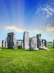 Beautiful view of Stonehenge