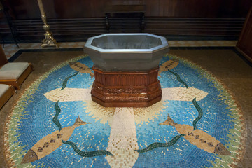 Old Baptismal Font