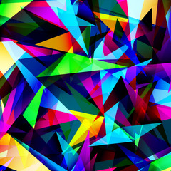 Abstract geometric background with triangles. Modern style
