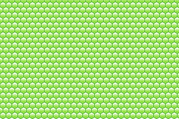 abstract green honeycomb pattern background