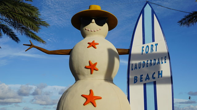 Fort Lauderdale beach in Florida