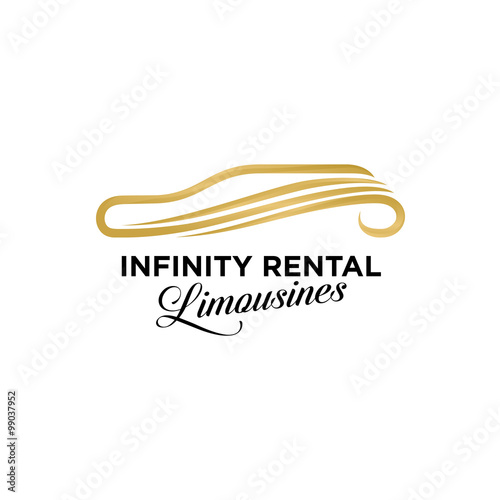 Infinity Limousines Car Logo Icon Stock Image And Royalty Free