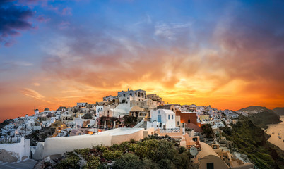Oia Santorin iIle Grèque