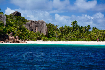 Sandstrand - Grande Soeur Island, Seychellen