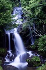Ryuzu falls at nikko,tochigi,tourism of japan(日光・竜頭の滝)