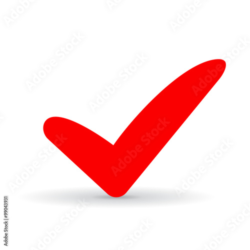 Red Tick Icon Stock Image And Royalty Free Vector Files On Fotolia