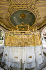 Fountain of Haghia Sophia Museum in Fatih, Istanbul, Turkey