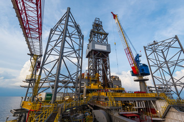 offshore jack up drilling rig