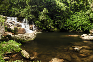 Waterfall in Paraty - Rio de Janeiro, Brazil.